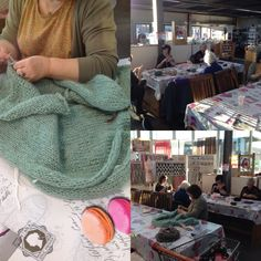 Workshop Bernadette vest breien.