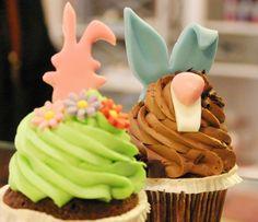 Osterhasen Cupcake
