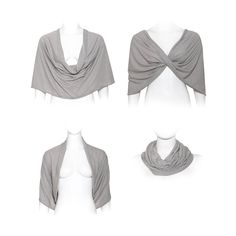 loop scarf / shawl / shrug   :size (US 6-12, EU 36-42)