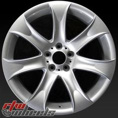 """Cool BMW: BMW X5 oem wheels for sale 2004-2006. 20"""" Silver rims 59487 - www.rtwwheels.com....  BMW wheels Check more at http://24car.top/2017/2017/07/25/bmw-bmw-x5-oem-wheels-for-sale-2004-2006-20-silver-rims-59487-www-rtwwheels-com-bmw-wheels/"""
