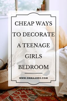 Teenagers like to experiment styles, therefore, we have created cheap ways to decorate a teenage girls bedroom so that they can switch it up regularly. We have budget friendly room makeover ideas that teen will love Money Plan, Money Tips, Money Saving Tips, Parenting Teenagers, Good Parenting, Parenting Hacks, Teenage Girl Bedrooms, Girls Bedroom, Upcycling Projects