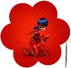 Prodigiosa Ladybug: Wrappers y Toppers para Cupcakes para Imprimir Gratis.