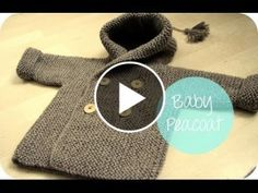 Lovely Baby Peacoat Knit – Video Tutorial