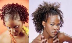 cabelos com tranças nagô