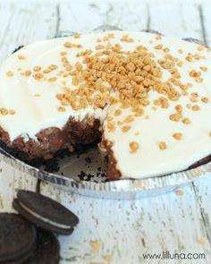Oreo Candy Crunch Pie