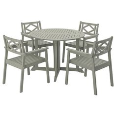Trust IKEA's collection of outdoor dining furniture at affordable prices featuring tables and chairs designed for patios, gardens, yards and any outdoor space. Outdoor Table Tops, Outdoor Dining Set, Patio Dining, Dining Sets, Outdoor Armchair, Outdoor Chairs, Dining Furniture, Outdoor Furniture Sets, Chaise Ikea