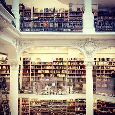 Biggest library in Eastern Europe, Carturesti Bucharest