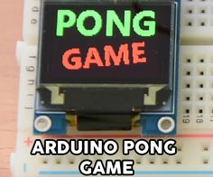 Dear friends,In this Instructable we are going to build an Arduino powered Game. It is the classic Pong Game! You can play against the computer by controlling the...