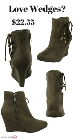 32f02fc6705 Best wedge boots for your hard earned cash. Essential shoe for your closet.  Stay