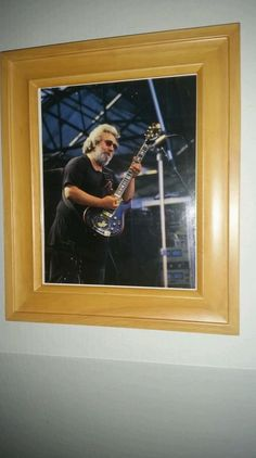 Grateful Dead Jerry Garcia Concert Photograph Color  8X10 Framed Photo - Awesome Photo  Please RePinit, ReTweet & Share on Facebook.  Thanks!