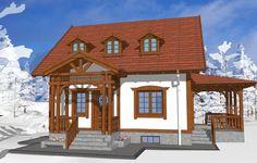 Sunt frumoase proiectele de case tradiționale românești concepute de arhitectul Adrian Păun | Adela Pârvu - Interior design blogger Home Fashion, Romania, Gazebo, House Plans, Outdoor Structures, House Styles, Interior, Design, Home Decor