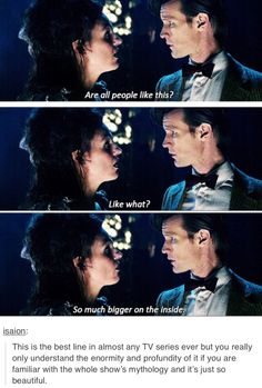 Eleven and the tardis