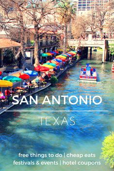 From the Alamo to Riverwalk and tons of nearby attractions, you can have an action-packed trip to San Antonio - Check out the destination guide to San Antonio and other major U.S. cities by HotelCoupons.com