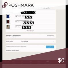 """An order I placed recently for 3 items I purchased 3 items recently from a seller. This is what shows up on my screen as from the """"my purchases"""" view. You can see the order number and what I paid. Can you please show me the screen shot that looks like this? Other"""