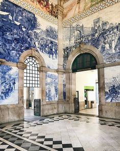 Why can't all railway stations look like this? | Photo: @miss_anastasia_u #regram #portugal #travelgram