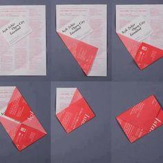 #pliage #enveloppe #original