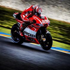 Nicky Hayden in France