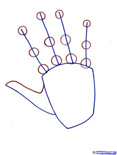 How to draw hands. Good detail. Cool proportions info about hands too.