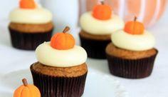 Cupcakes alla Zucca di Halloween