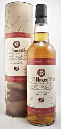 Tullibardine Sherry Finish, Highland Single Malt Scotch Whisky available at West…