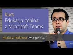 Kurs: Edukacja zdalna z Microsoft Teams - YouTube Microsoft, Education, Youtube, Onderwijs, Learning, Youtubers, Youtube Movies