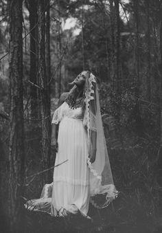vintage lace gown...