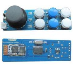 Serial Bluetooth Remote Control With Joystick