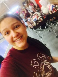 #selfie at practice! (Water break!) #EDGE  #usav By Brandy Jo Miller
