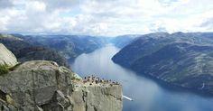 Norveç denilince akla gelen yerlerden biri: Preikestolen