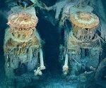 Captan primeras fotografías submarinas del Titanic completo (+ Fotos)  26 Mar 2012 | 9 Comentarios    Alta tecnología óptica facilitó a un grupo de exploradores de las profundidades oceánicas sacar las primeras imágenes de las dos partes enteras del Titanic. Las ofrece a sus lectores la edición de abril de la revista National Geographic, en el marco del primer centenario del naufragio.