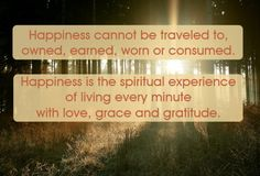 Meditating on Happiness today