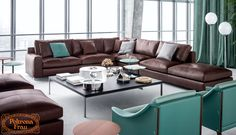 Find out more about the Massimosistema Sofas by Poltrona Frau Style & Design Centre and explore Poltrona Frau's furniture collection. Single Chair, Three Seater Sofa, Contemporary Sofa, Modular Sofa, Furniture Collection, Seat Cushions, Sofas, Upholstery, Couch