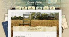 What a cool #website idea and such a great #design!