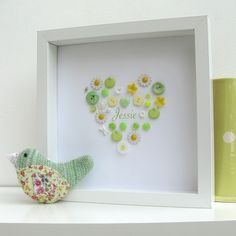 Fun easy frame for the kids bedroom.