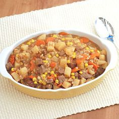 There is nothing like a Slow Cooker Beef Stew!  Via Recipe Recommendations