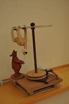Paul Spooner automata - Circus