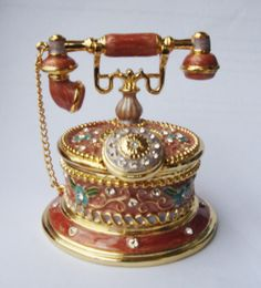 Telephone Jewelry Box/Trinket Box