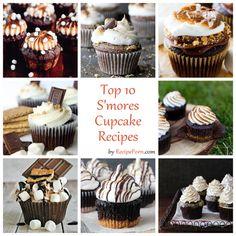 Top-10 S'mores Cupcake Recipes