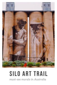 Guide to visiting Australia's largest outdoor gallery, the Silo Art Trail in rural Victoria. What to do, where to stay & top tips for visiting the Silo Art. Outback Australia, Visit Australia, Western Australia, Melbourne Australia, South Australia, Brisbane, Sydney, Graffiti, Parks