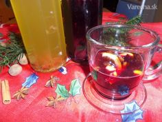 Mulsum - domáca medovina z vína (fotorecept) Cocktails, Drinks, Hurricane Glass, Shot Glass, Ale, Candle Holders, Candles, Tableware, Craft Cocktails