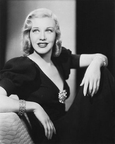 I love this portrait of Ginger Rodgers. One of my favourite hollywood actresses!