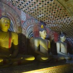 Dambulla Cave Temples #touringsrilanka #srilankatourism #dambullacavetemple #unescoworldheritagesites Sri Lanka, Painting, Art, Craft Art, Paintings, Kunst, Gcse Art, Draw, Drawings