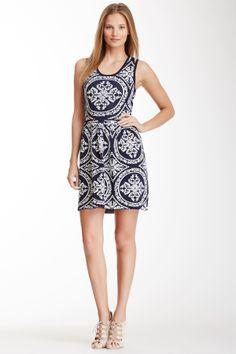 Romeo & Juliet Couture Jacquard Dress//