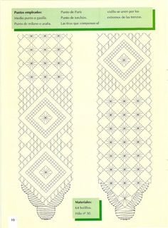 Labores de Bolillos 02 Bobbin Lace Patterns, Sewing Patterns, Bobbin Lacemaking, Needle Lace, Lace Making, Couture, Album, Crochet, How To Make