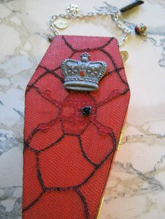 Pirate Coffin Purse by jansbeads on Etsy, $34.50