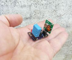 Mini weather station with Attiny85 style