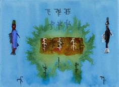 John Lurie - These are the fish who triumphed over the language that tried to destroy them. http://www.johnlurieart.com