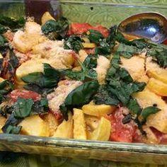 Roasted Garlic Zucchini and Tomatoes Allrecipes.com