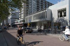 Streetscape. Dreamhouse Rotterdam by KAAN Architecten. Pic @svd_fotografie
