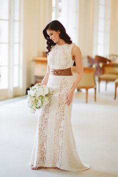 Gorgeous Elie Saab gown: http://www.stylemepretty.com/texas-weddings/san-antonio/2015/03/24/1920s-inspired-bridal-session/ | Photography: J Wilkinson Co - http://jwilkinsonco.com/